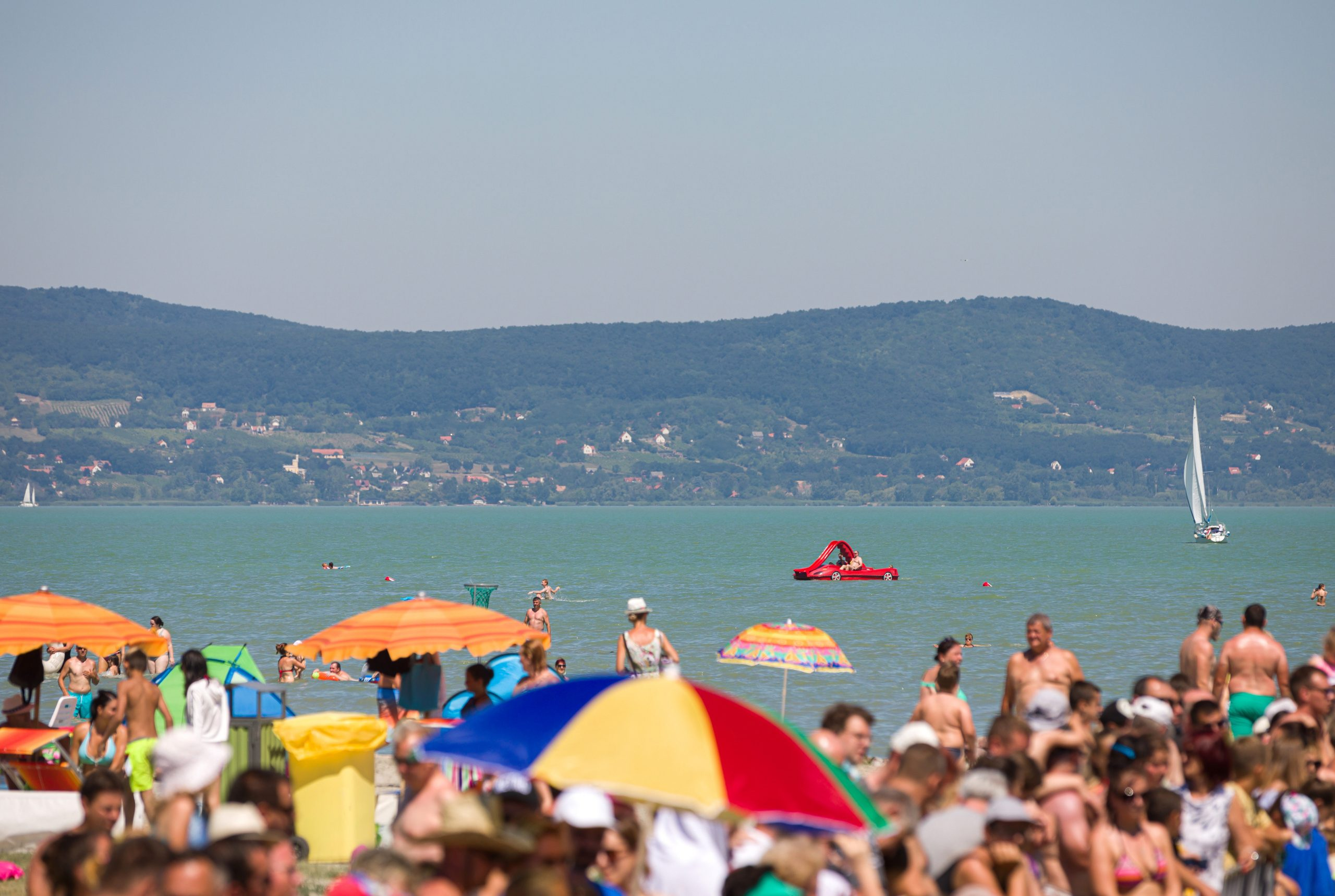 Full House at Lake Balaton, Domestic Tourism on the Rise due to Pandemic