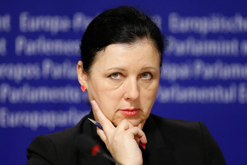EC Vice-Chair Jourová Concerned about Pressure on Leading News Outlet 'Index' post's picture