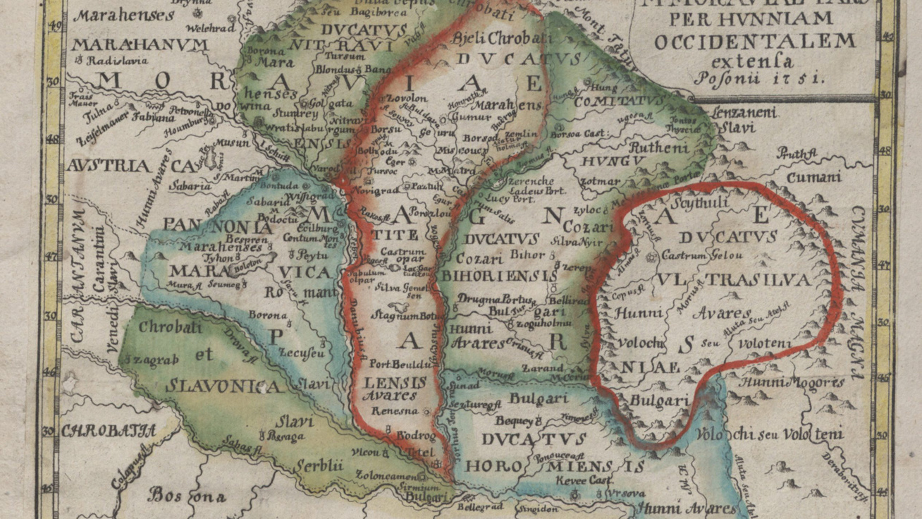 Countless Historical Maps Made Available Online by National Széchényi Library post's picture