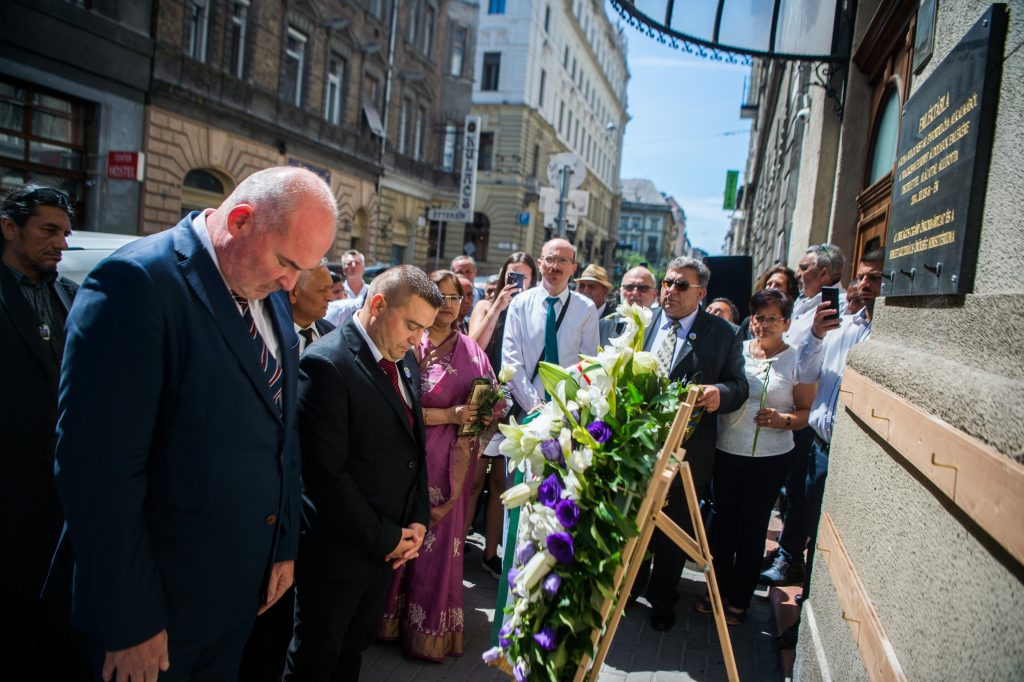 Roma Holocaust Memorial Day Marked in Budapest post's picture