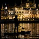 Budapest Night Sightseeing from SUPs on River Danube – Photo Gallery!