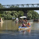 Plastic Cup Competition Participants Clean River Tisza of 8.2 Tonnes of Waste