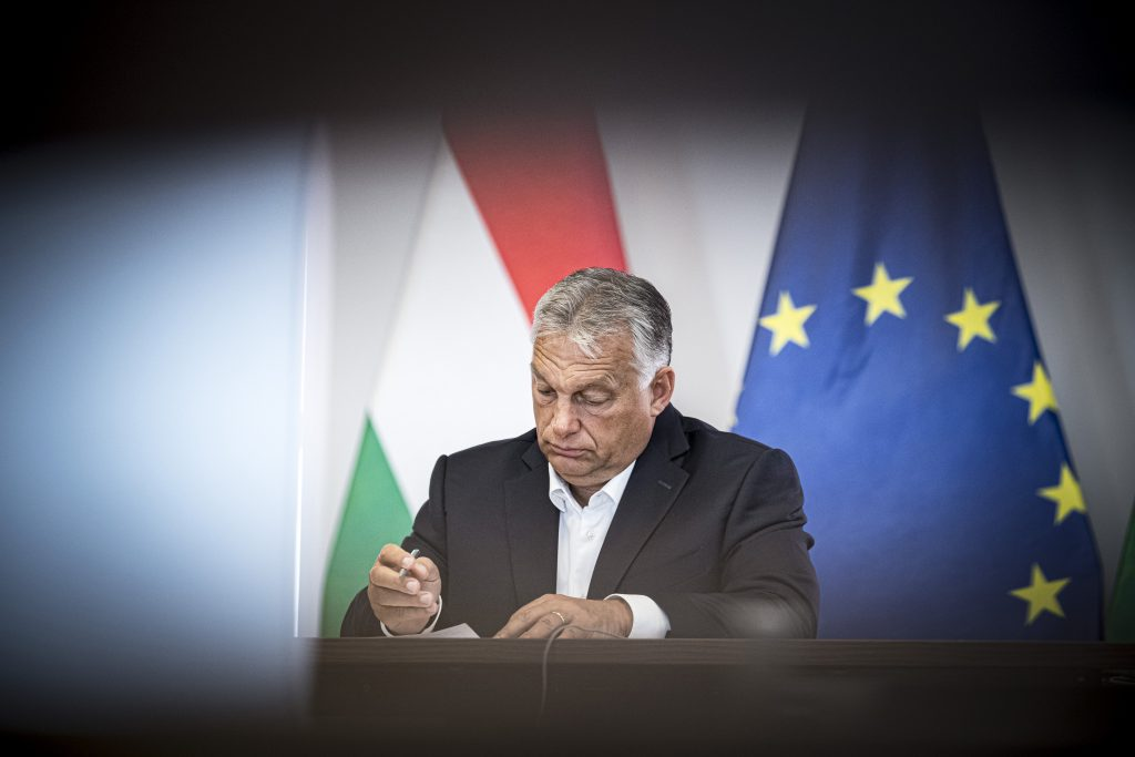 Press: Orbán 'Prepared to Veto EU Budget' post's picture