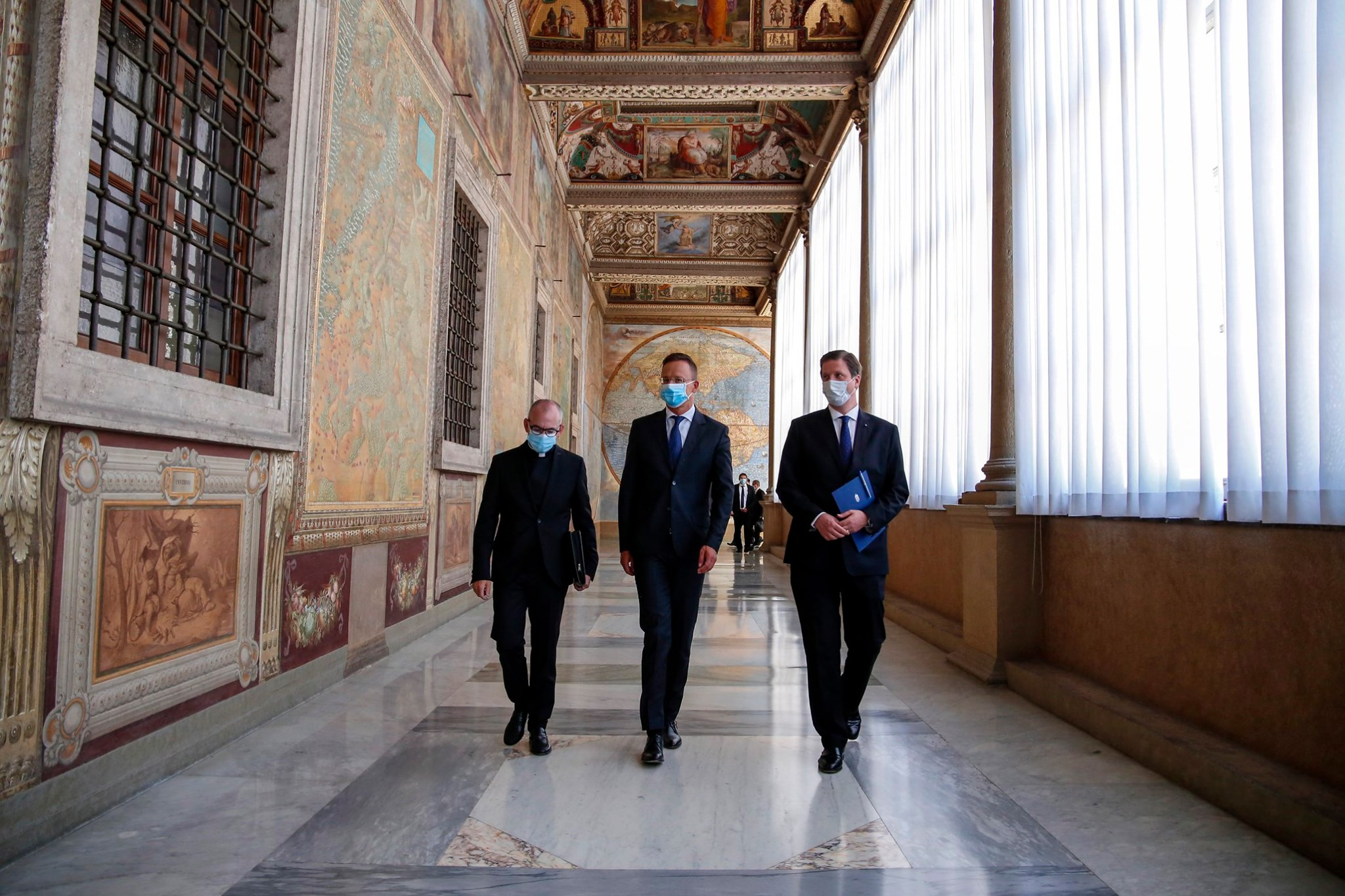 "FM Szijjártó in Vatican: Christianity Today 'under Attack from All Sides"" post's picture"