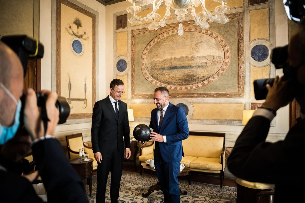 Szijjártó in San Marino: Preserving National Identity Key for Europe in Tackling Challenges post's picture