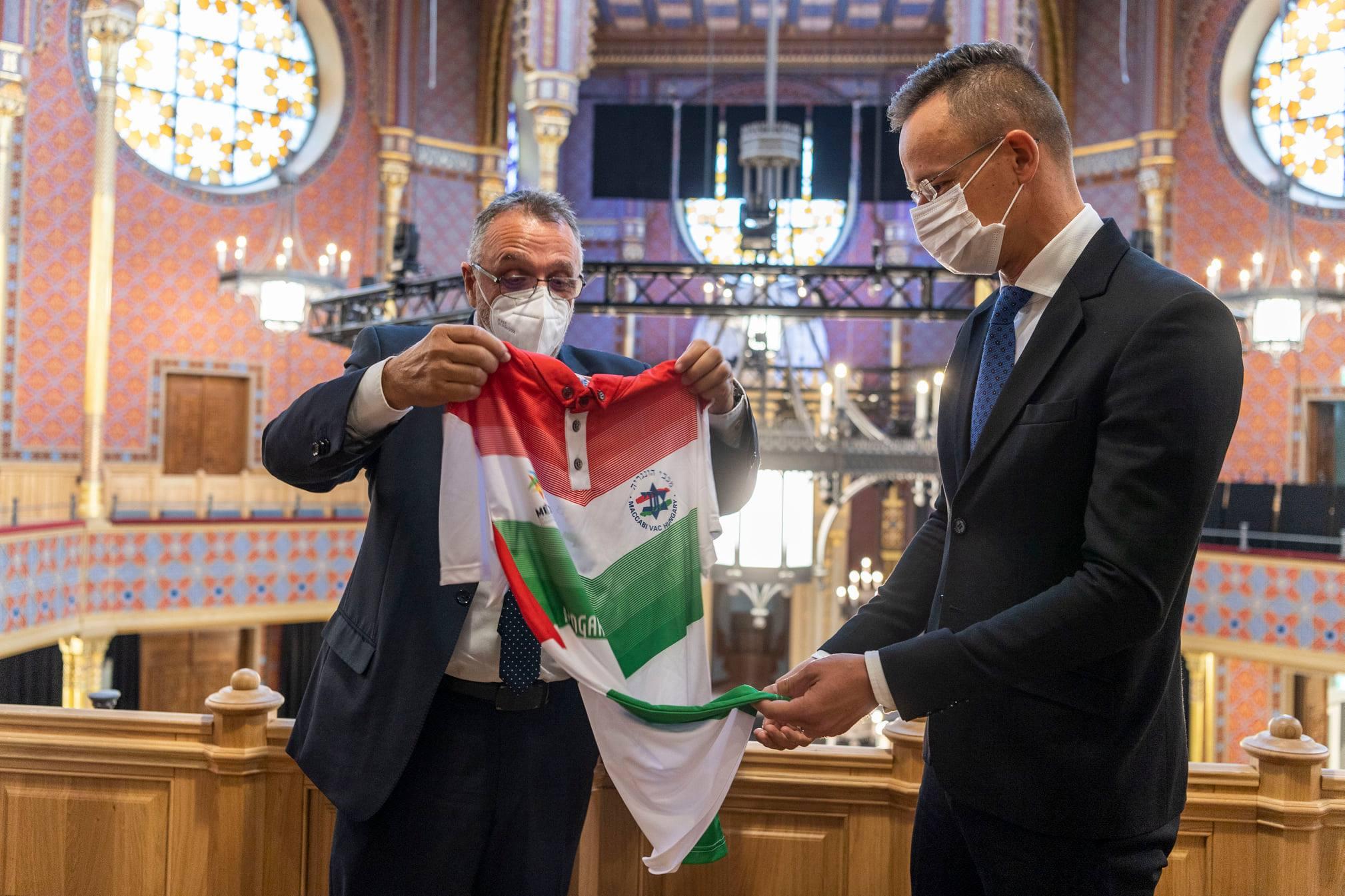 FM Szijjártó Meets Mazsihisz Leader: Constructive Dialogue with Jewish Organisations Important post's picture
