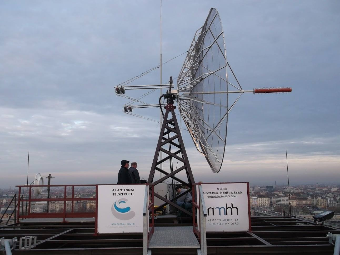 New Hungarian Satellite Presented at Rome Research Institute
