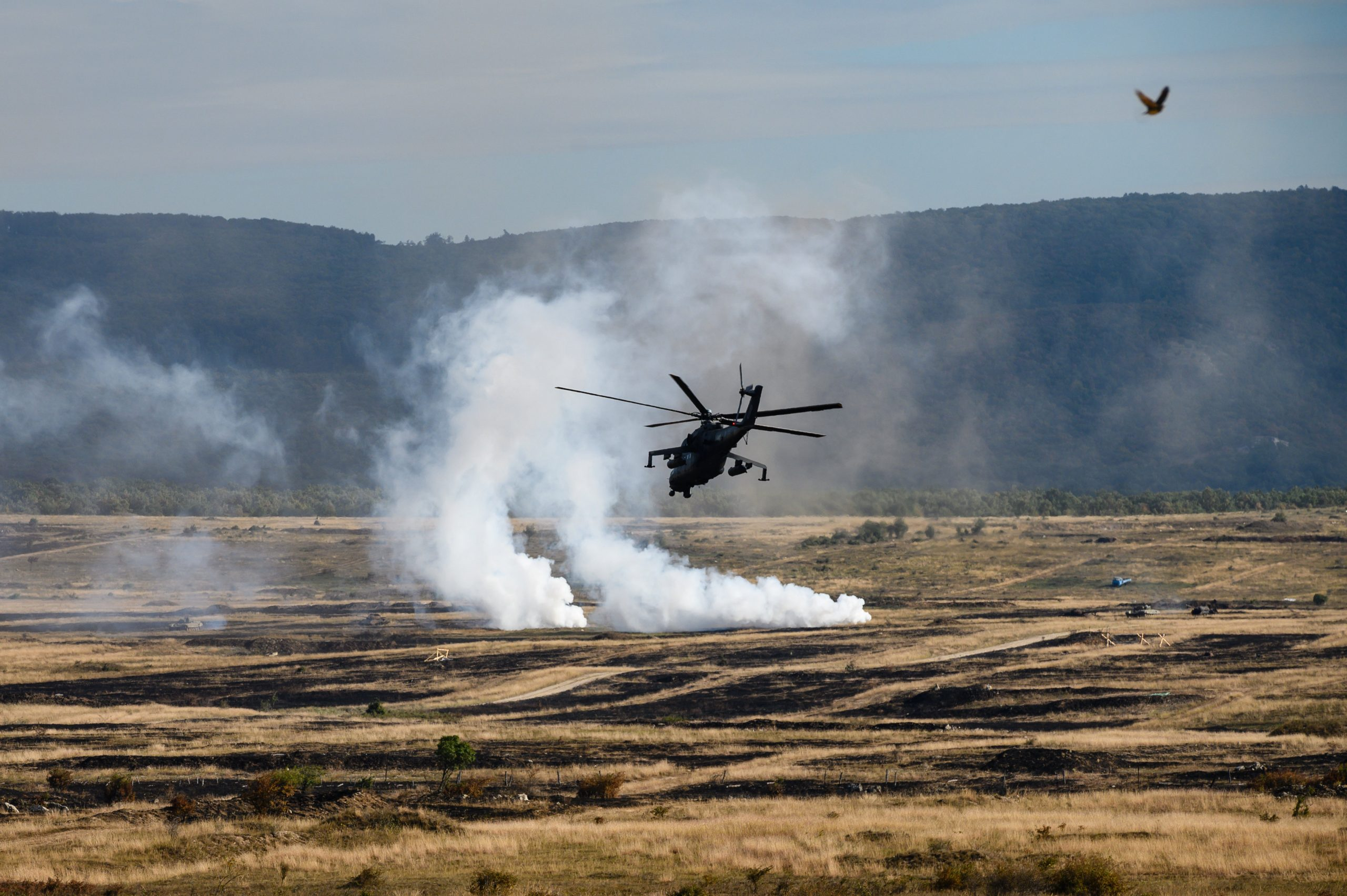International Military Exercise 'Brave Warrior 2020' under way in Bakony Hills