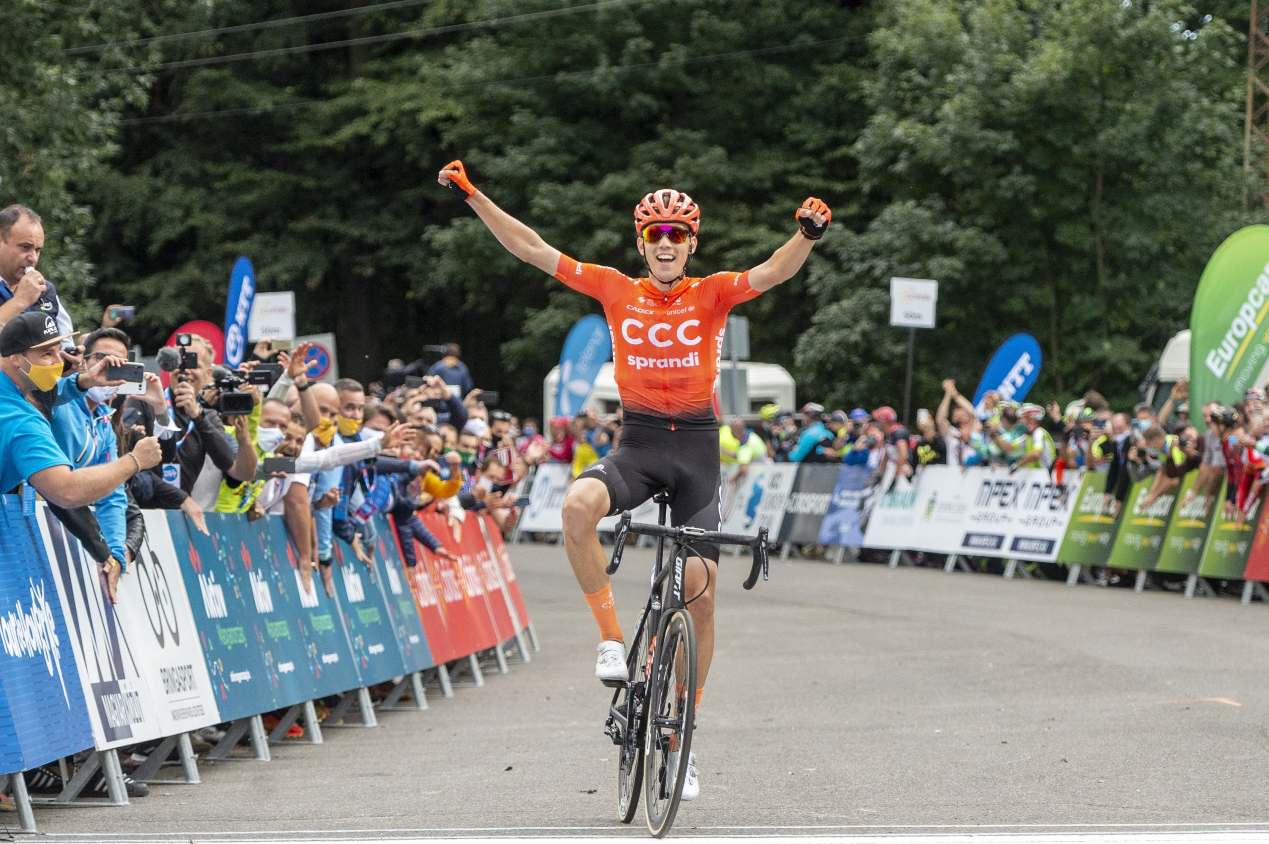 After 15 Years a Hungarian Cyclist Wins Tour de Hongrie post's picture