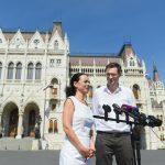 Opposition Párbeszéd Re-Elects Szabó and Karácsony as Co-Leaders