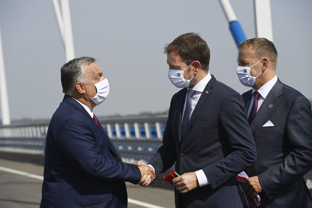 Orbán, Matovič Inaugurate Hungary-Slovakia Bridge over Danube post's picture