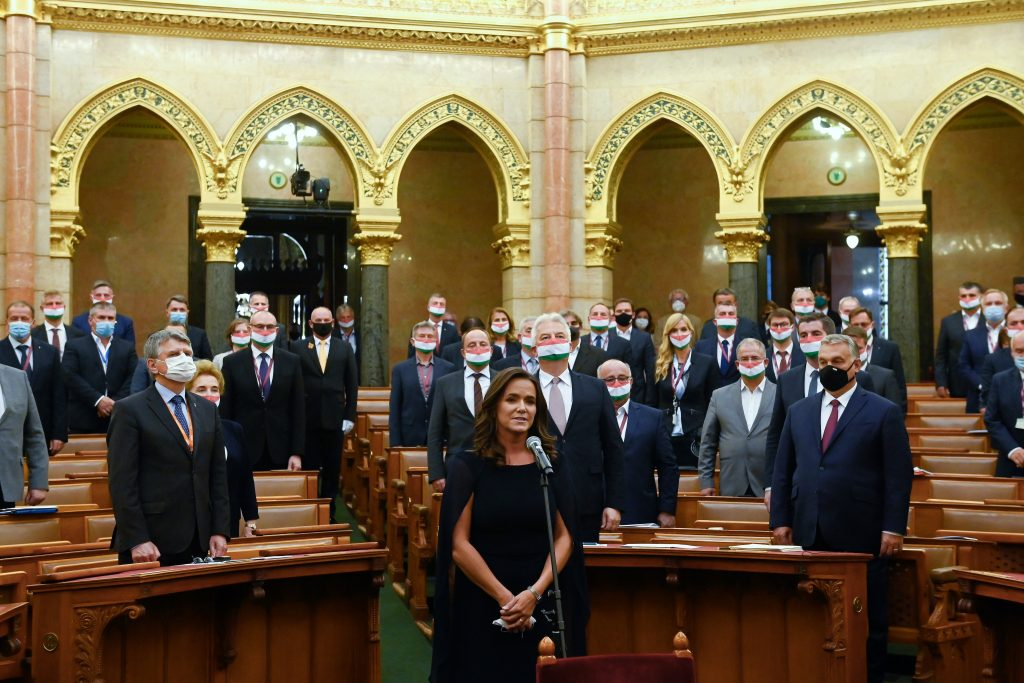 Katalin Novák Takes up Post as Families Minister post's picture