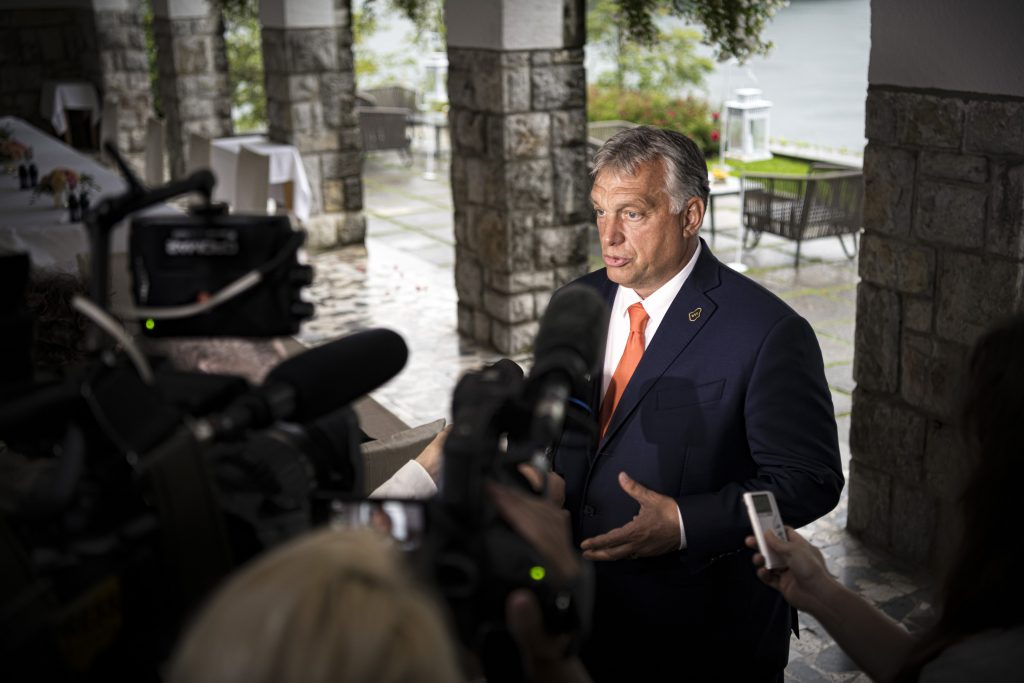 Orbán in Die Zeit: Rule of Law Can Wait, but Countries in Need of Money Cannot post's picture