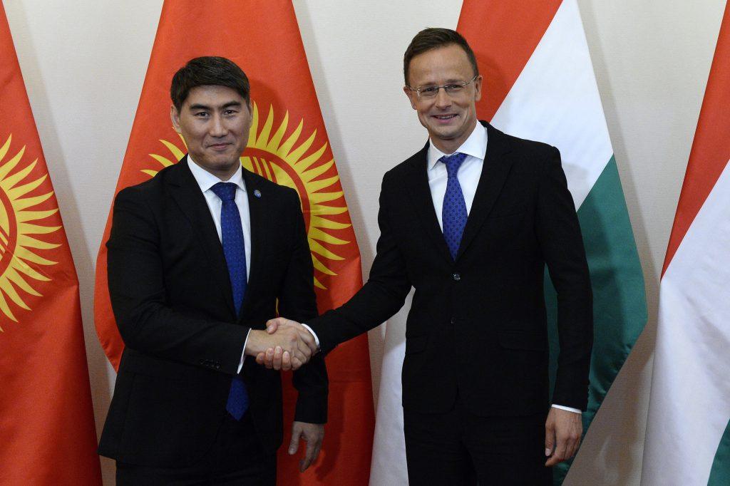 Szijjártó in Kyrgyzstan: 'Central Asia Growing in Importance' for Hungary post's picture