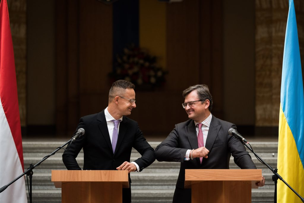 FM Szijjártó Discusses Improving Relations with Ukrainian Counterpart   post's picture