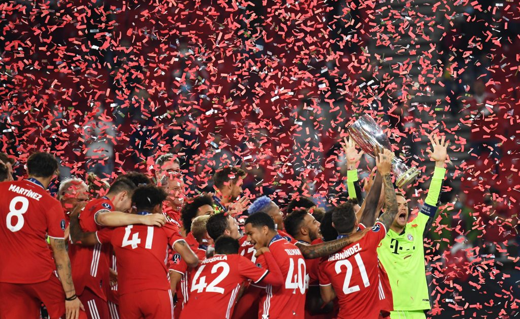 Bayern Munich Wins UEFA Super Cup Final in Budapest post's picture