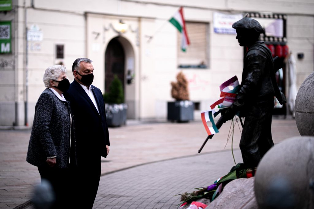 October 23: Orbán Commemorates 1956 with Freedom Fighter Wittner post's picture