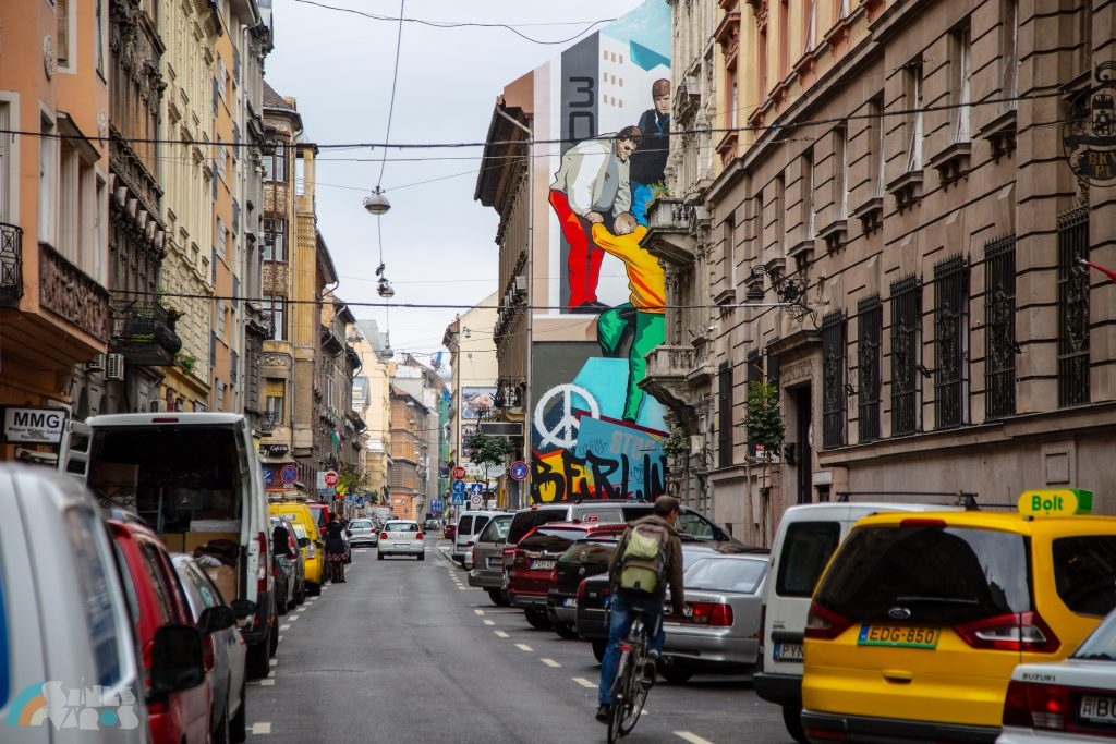 Budapest Firewall Painting 'Berlin' Commemorates Reunification of Germany post's picture