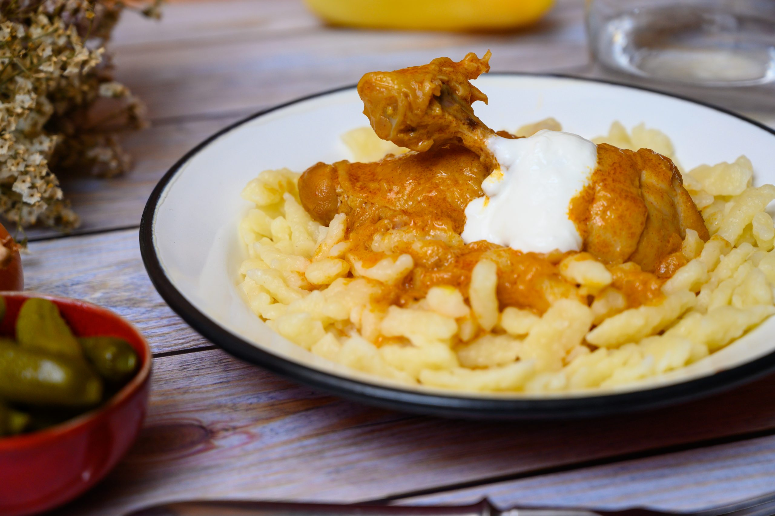 The Flavor of Hungary: Chicken Paprikash – With Recipe! post's picture