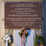 Plaque Unveiled in Budapest in Tribute to Catholic Priest Hévey who Saved Jews
