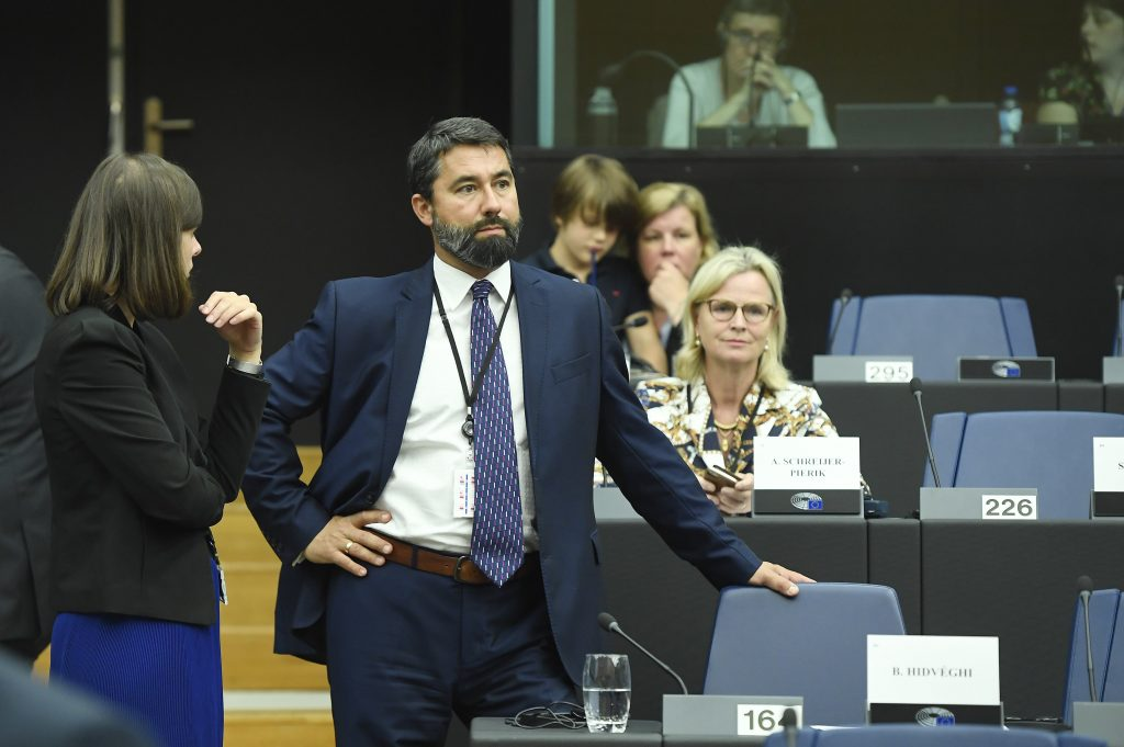 Fidesz MP Hidvéghi: Brussels Applies Double Standards Regarding Human Rights, Rule of Law post's picture