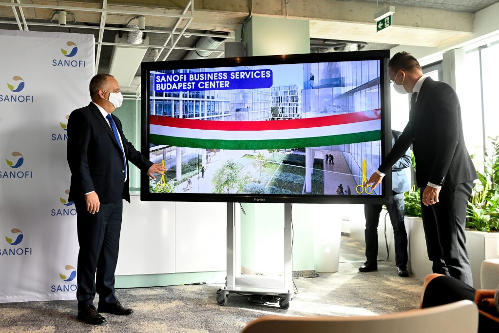 Sanofi Opens Global Competence Centre in Budapest post's picture