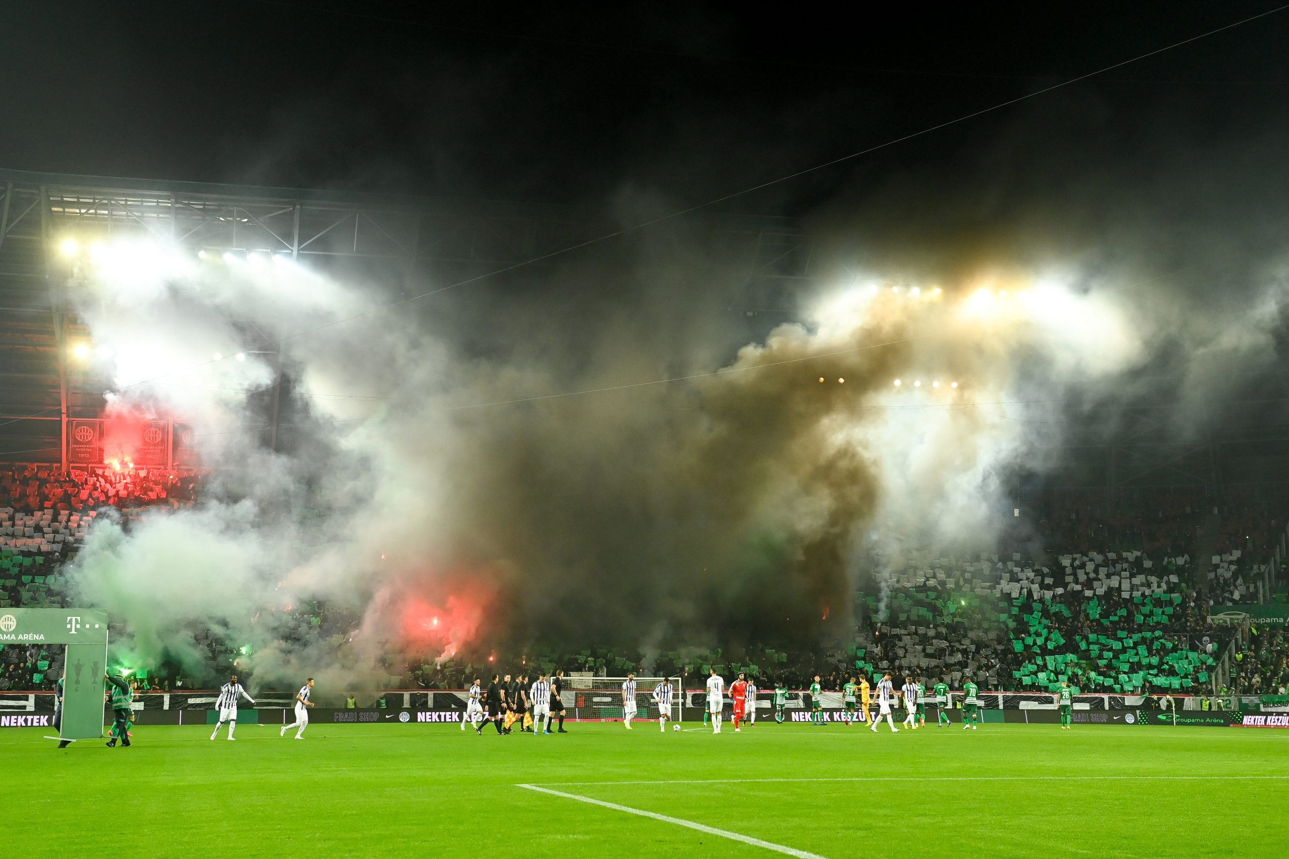 Ferencváros CL Home Matches Sold Out, But Will They Be Covid-Safe? post's picture