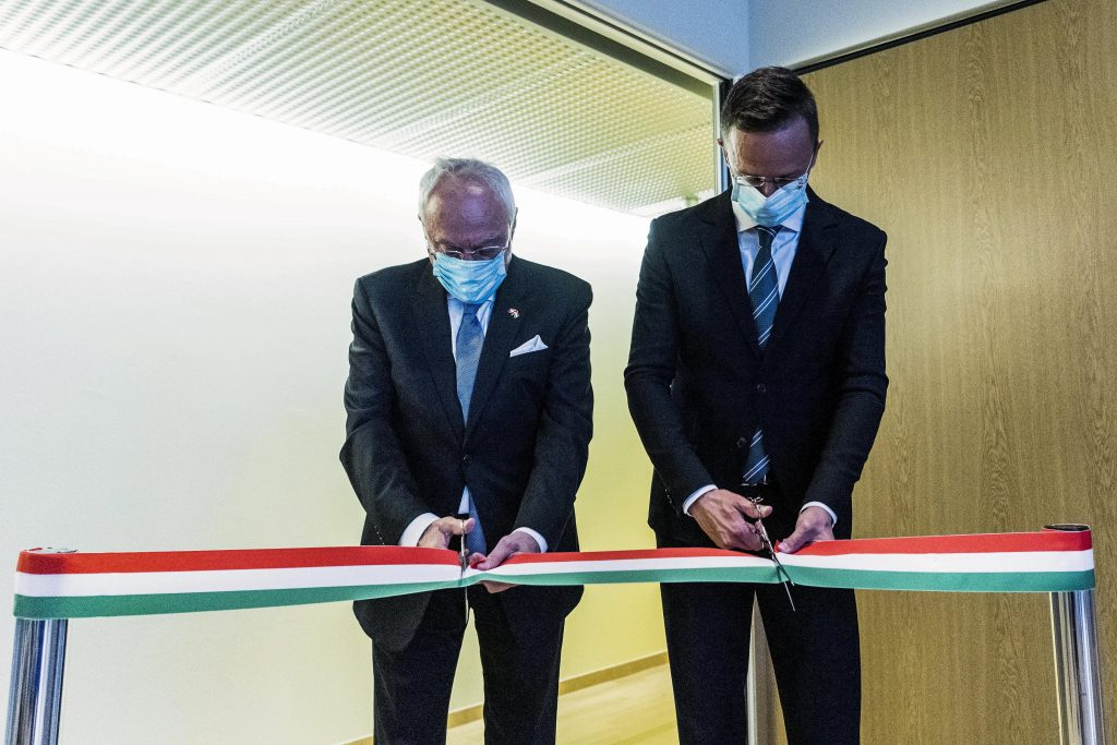 Foreign Minister Opens Hungary Consulate in Geneva post's picture