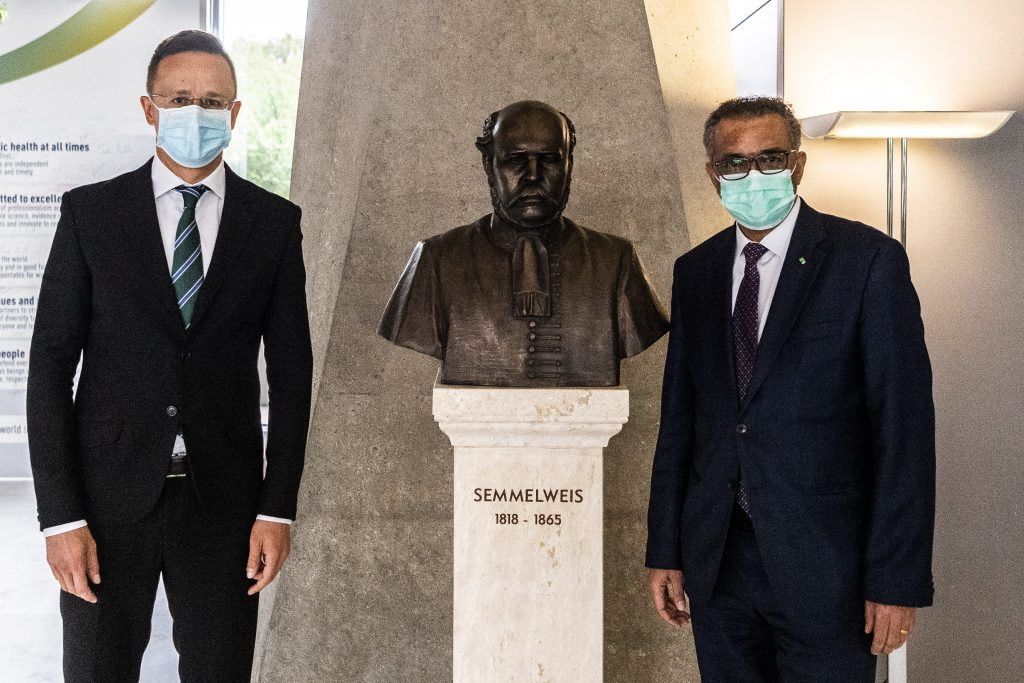 Coronavirus – Szijjártó: WHO Satisfied with Hungary's Handling of Pandemic post's picture