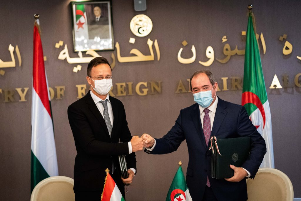 Szijjártó Urges EU-Algeria Cooperation to Stem Illegal Migration post's picture