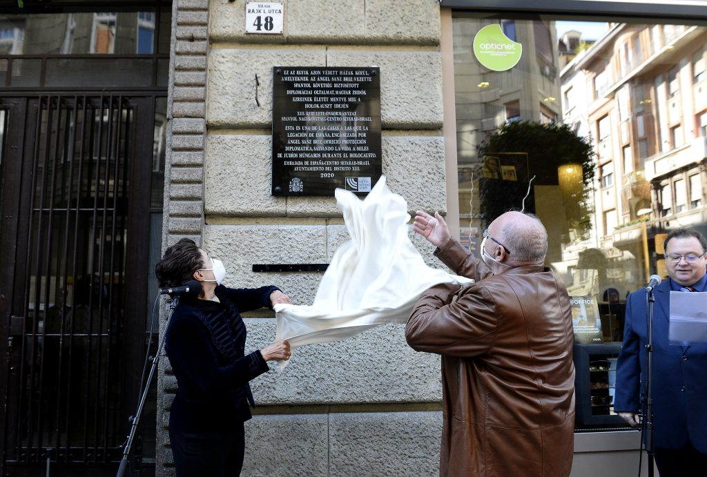 Spanish Diplomat Who Saved over 5,000 Jews Commemorated in Budapest post's picture