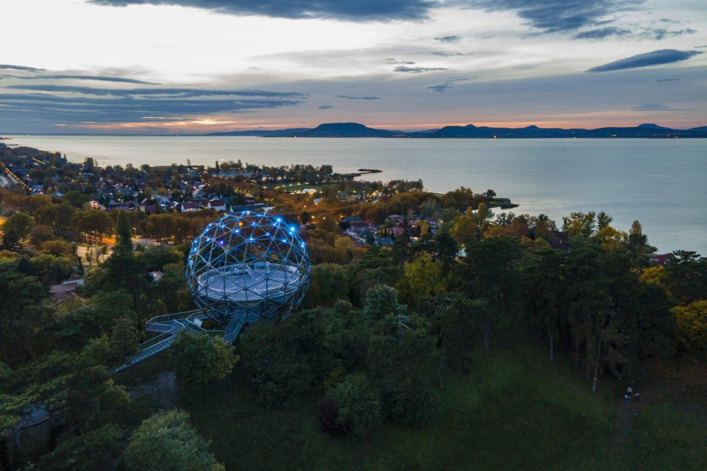 Balatonboglár's Iconic Sphere Lookout Wins Award post's picture