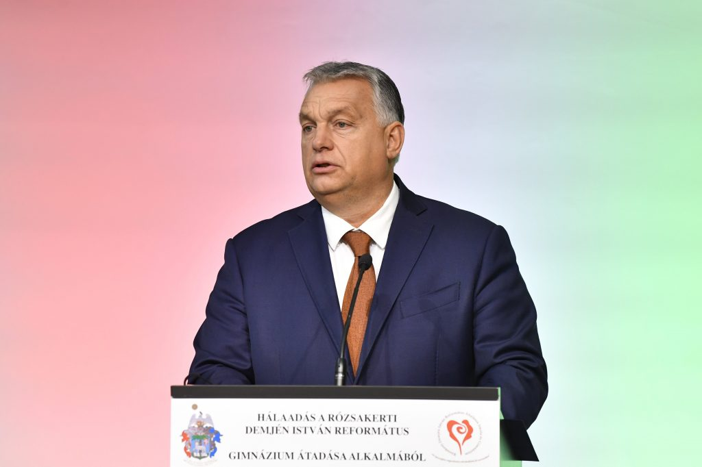 Orbán: Our Task Is to Raise Children as 'Homo Christianus' post's picture
