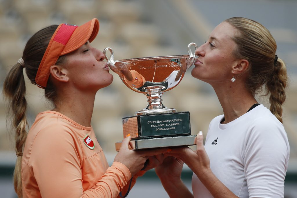 Hungary's Tímea Babos and Partner Mladenovic Win Roland Garros Again post's picture
