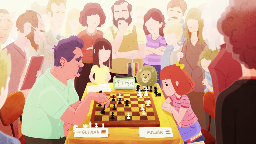 'The Polgár Girls' Animation Film About Famous Hungarian Chess Players Wins Award for Children's Films post's picture