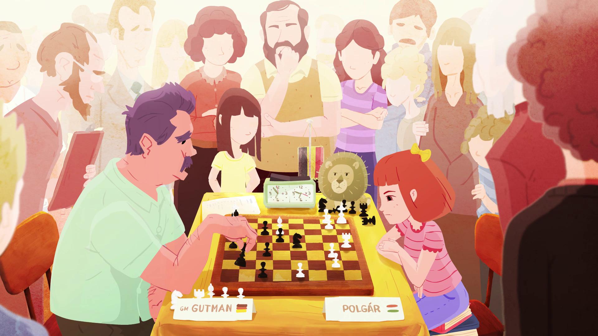 Le film d'animation Polgár Girls sur les célèbres joueurs d'échecs hongrois remporte un prix pour les films pour enfants