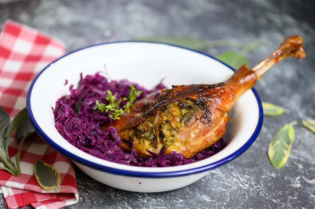 The Most Delicious Medieval Tradition: St. Martin's Goose and Red Cabbage – With Recipe! post's picture