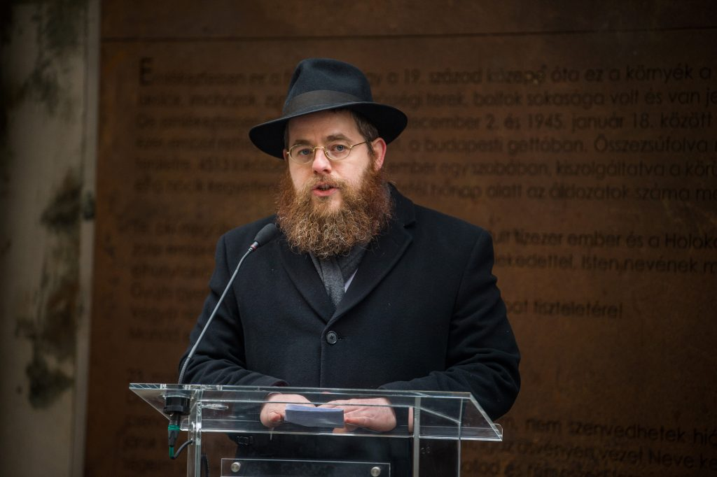 Hungary Now Safest Place in Europe for Jews – Rabbi Köves at the Hungary at First 'Site' Conference post's picture