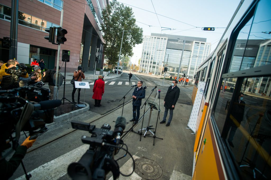 First Section of Pest Integrated Tram Network Inaugurated post's picture