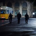 Heavily Armed Anti-Terrorist Units Patrolling During Curfew Draws Criticism from Budapest Mayor
