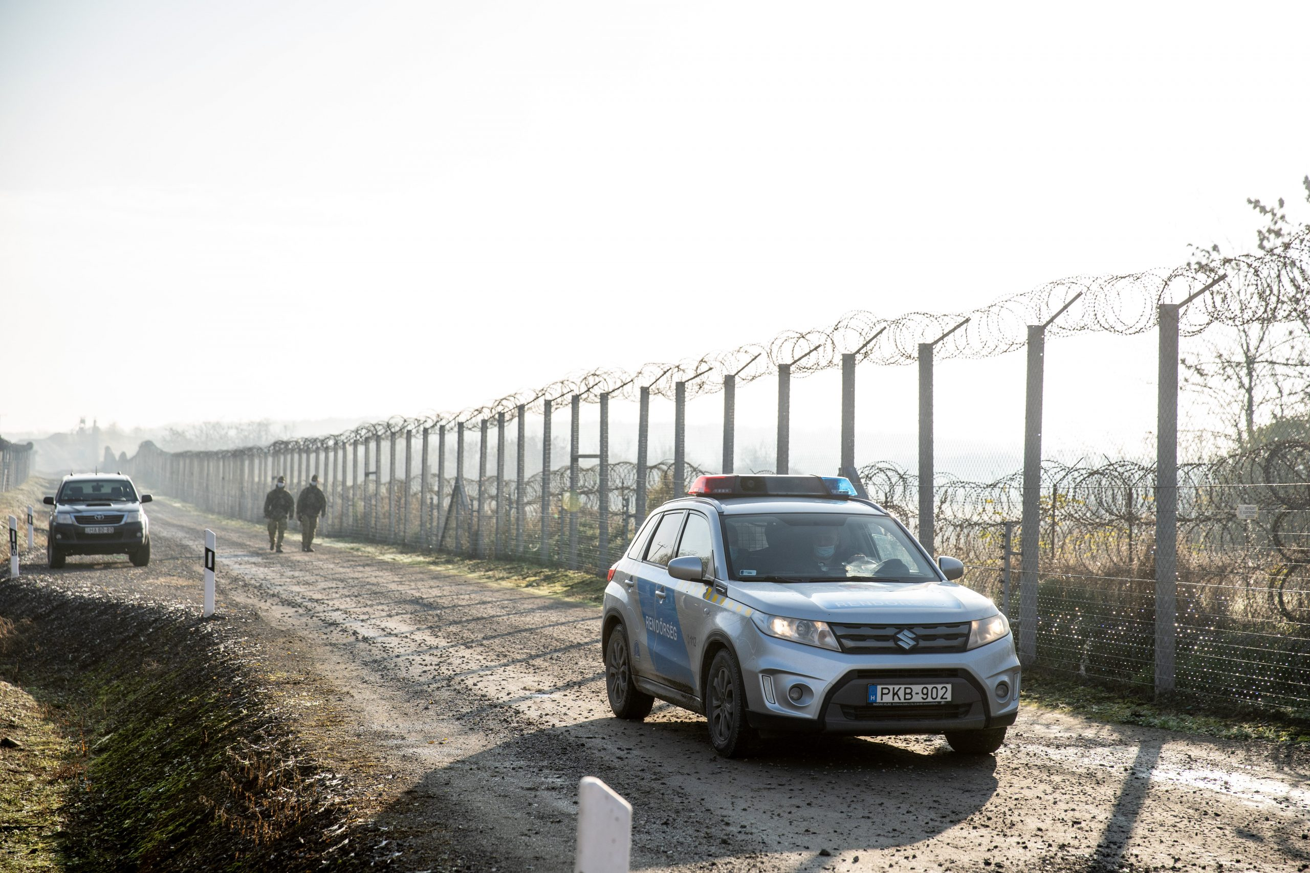 Truck Carrying 68 Migrants Stopped at Hungary-Romania Border