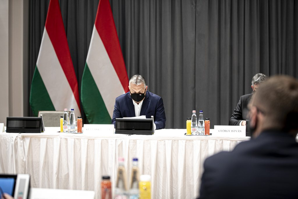 Coronavirus: Orbán Asks County Gov't Leaders for Strict Enforcement of New Measures post's picture