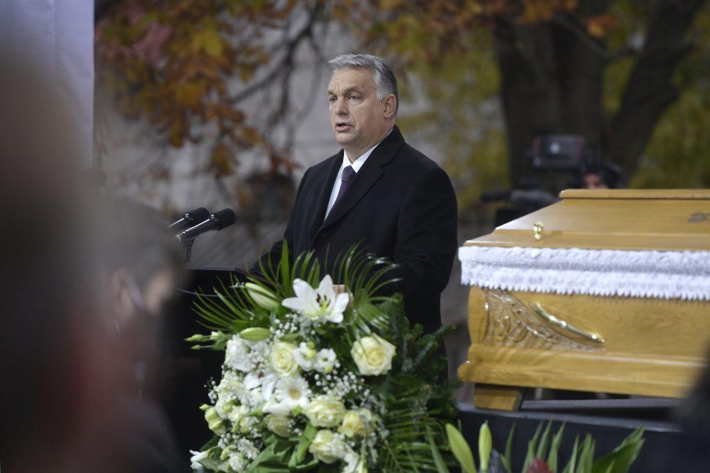 Orbán Attends Poet Szőcs's Funeral post's picture