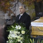 Orbán Attends Poet Szőcs's Funeral