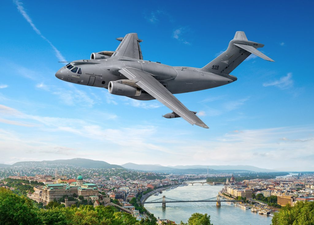 Hungarian Army Buys Embraer Aircraft post's picture