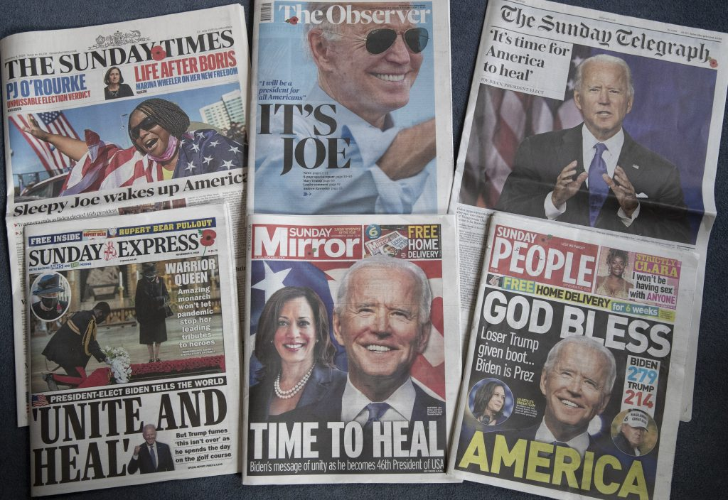 Hungarian Press Roundup: First Comments on Biden's Victory post's picture