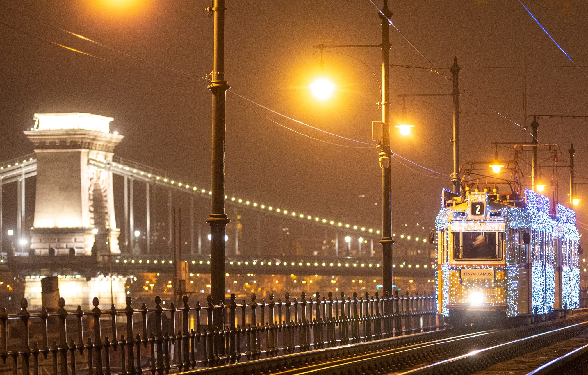 Holidays During COVID: Budapest Celebrates With Spectacular Christmas Trams Again