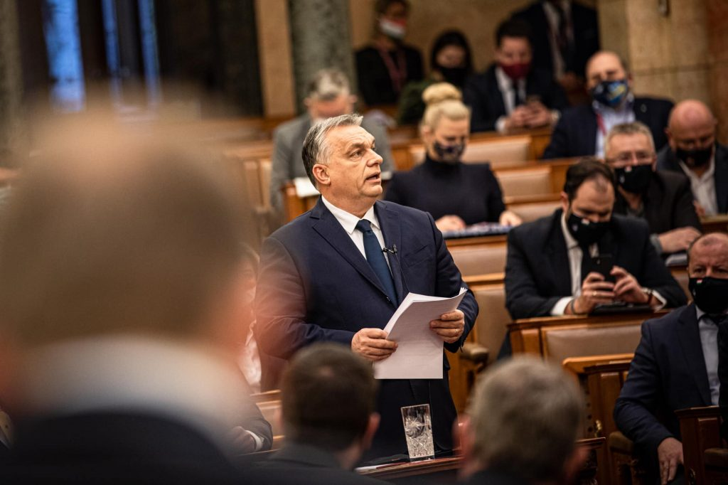Orbán in Parliament: Hungary's Sovereignty, Money 'Protected' post's picture