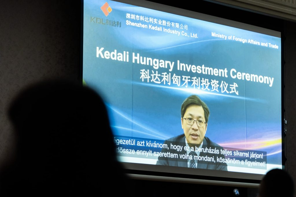 Shenzhen Kedali to Build Lithium Battery Parts Plant in Gödöllő post's picture