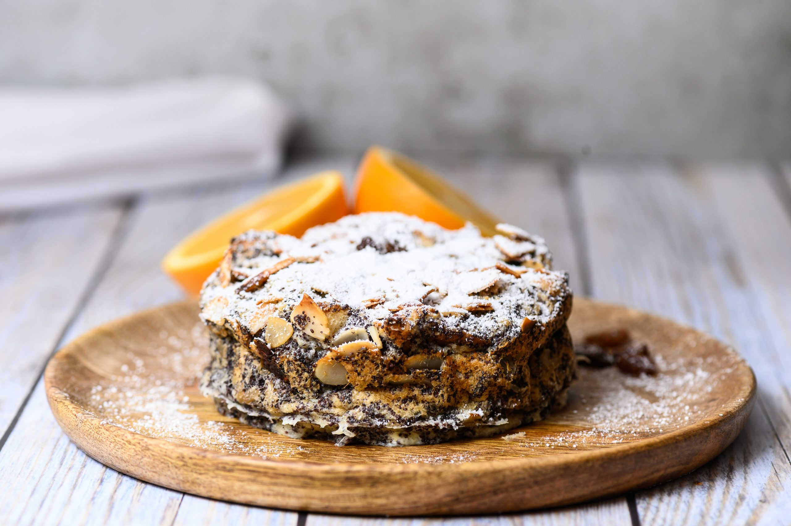 A Traditional Hungarian Christmas Dessert: Poppy Seed Bread Pudding - With Recipe!